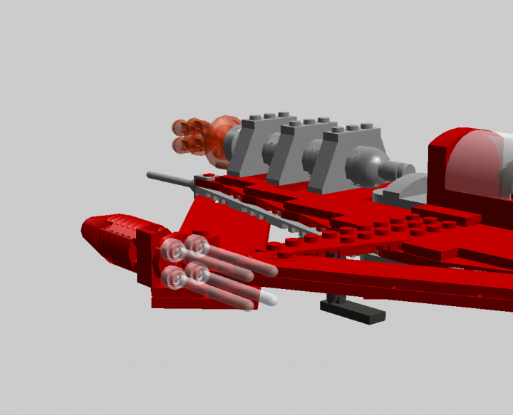 LEGO MOC - In a galaxy far, far away... - Ship 'Rozgus'