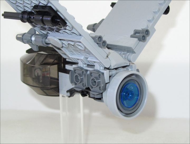 LEGO MOC - In a galaxy far, far away... - Light Fighter 'Wasp'