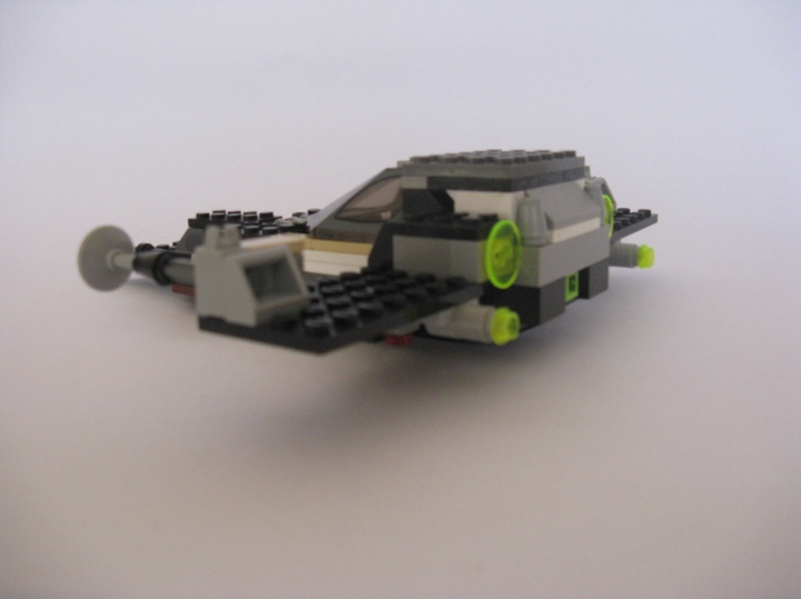 LEGO MOC - In a galaxy far, far away... - Chasseur-bombardier