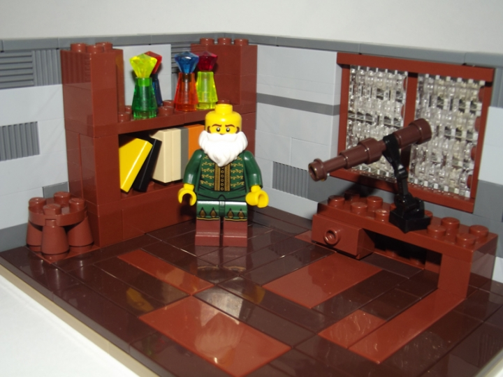 LEGO MOC - Because we can! - Galileo Galilei's Telescope