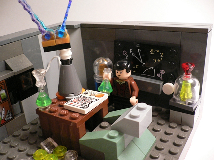 LEGO MOC - Because we can! - Nikola Tesla: 'Приступим к опытам!'