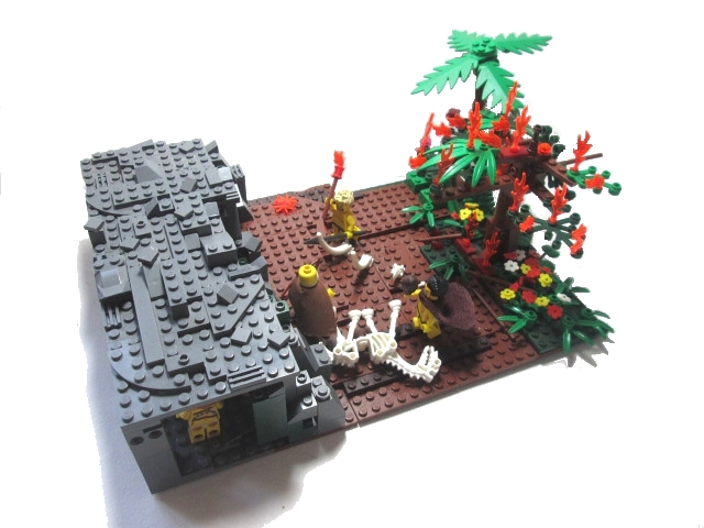 LEGO MOC - Because we can! - Sky fire for people: Ещё ракурс
