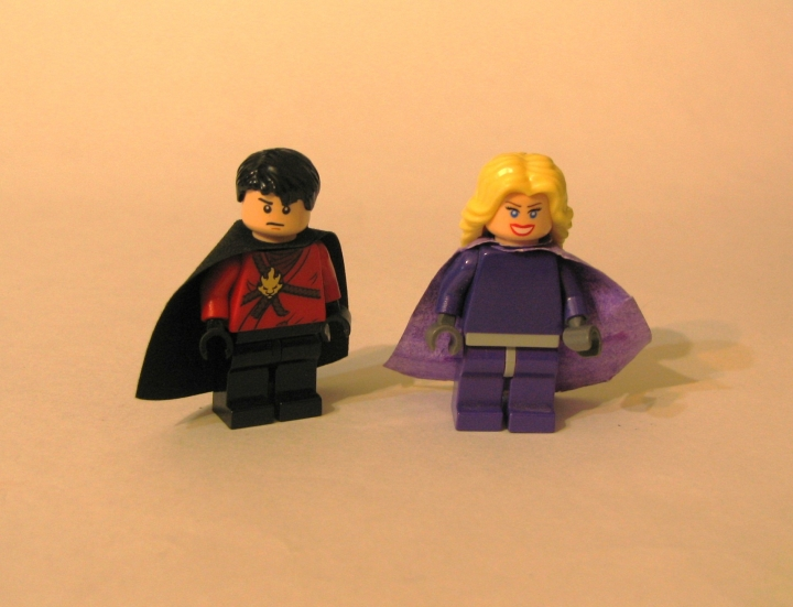 LEGO MOC - Heroes and villians - The Rise of red Robin