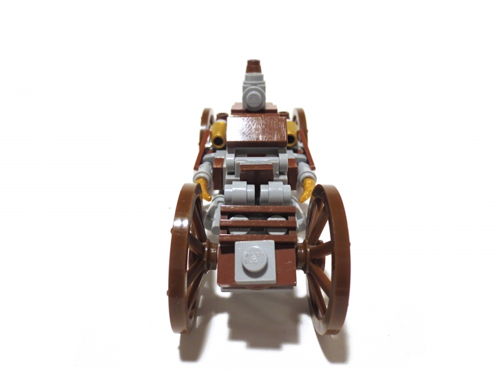 LEGO MOC - Steampunk Machine - Steam Ripper: Вид спереди
