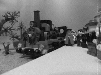The Arrival of the Mail Train
