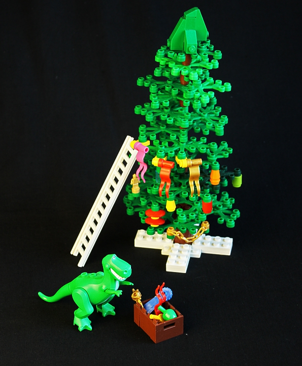 LEGO MOC - New Year's Brick 2014 - New Year Jurassic: ...<br />