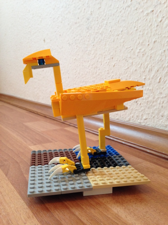 LEGO MOC - 16x16: Animals - Lyrebird