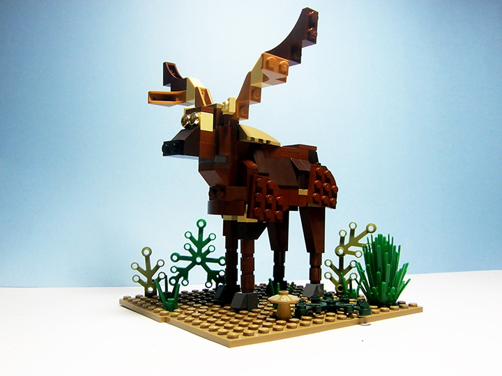 LEGO MOC - 16x16: Animals - Deer