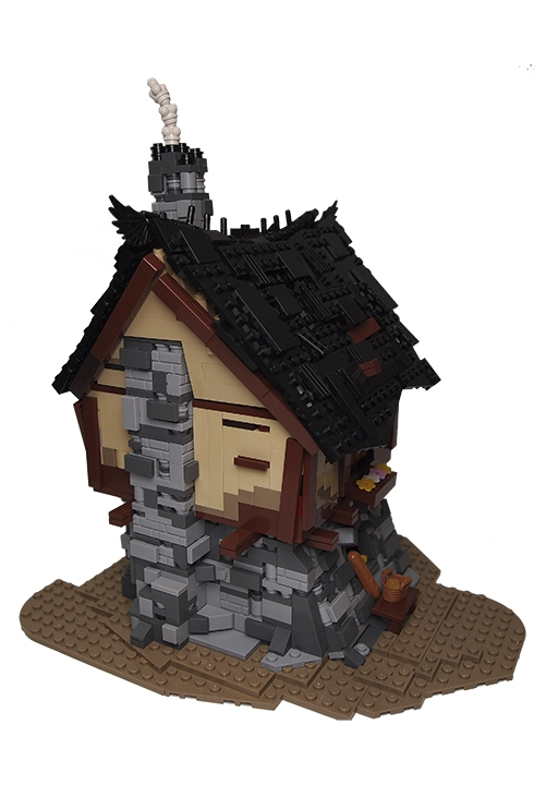 LEGO MOC - LEGO Architecture - Bakery from Reminiscences