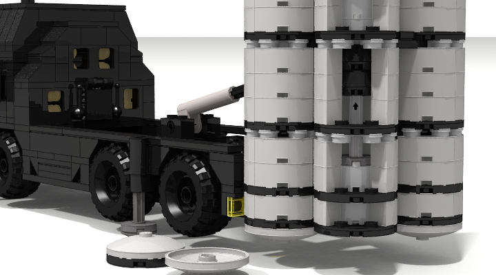 LEGO MOC - LDD-contest '20th-century military equipment‎' - Air Defense Missile Systems S-300PS
