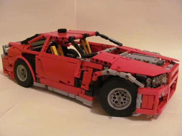 LEGO MOC - Technic-contest 'Car' - Nissan Skyline GT-R R34.