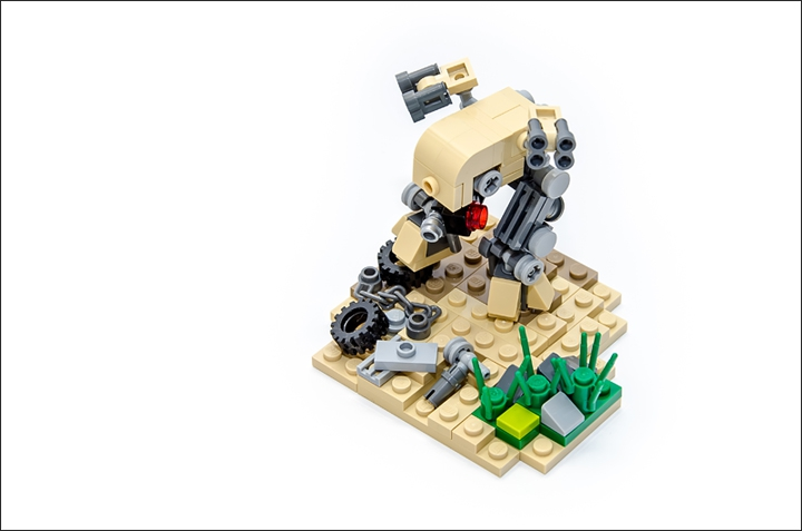 LEGO MOC - Battle of the Masters 'In cube' - DESERT STRIKE
