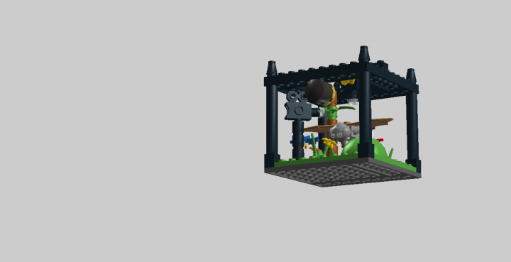 LEGO MOC - Battle of the Masters 'In cube' - КИНОСТУДИЯ: Общий вид.
