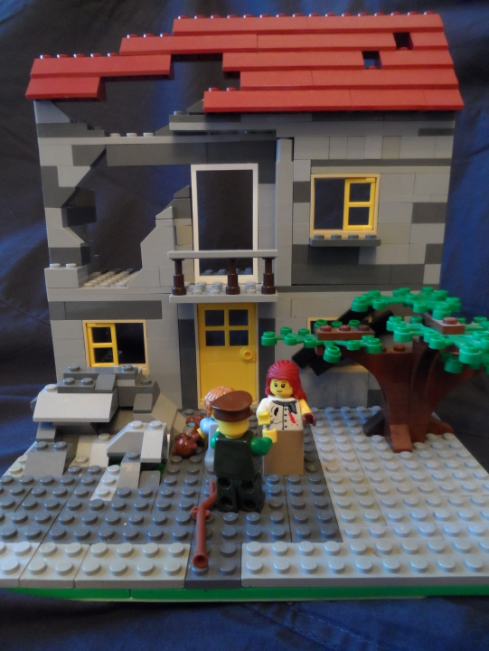 LEGO MOC - Joy and Sadness of Great Victory - Возвращение