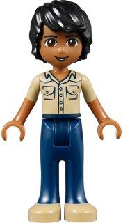 Lego Minifigurine Friends Frnd081 Matthew du 41036 Jungle Bridge Rescue