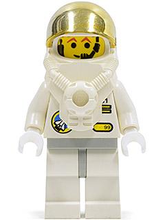 Bricker Lego Minifigs Spp005 Space Port Astronaut C1