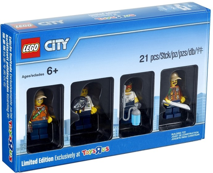 Par City Jungle Minifigures Lego Bricker Construit 5004940 cF3l1JTK
