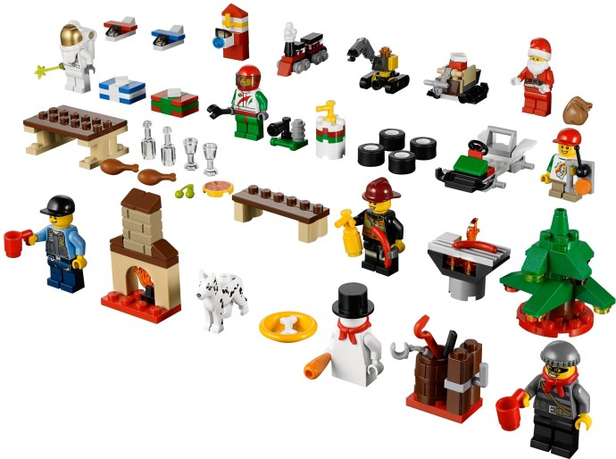 Calendrier De L Avent Lego City 2020.Bricker Construit Par Lego 60024 Le Calendrier De L Avent
