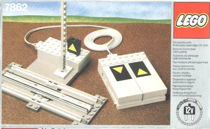 Bricker - Construit par LEGO 7862 Remote Controlled Decoupling
